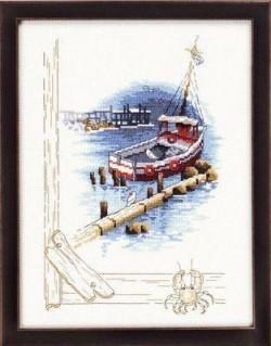 Båd ved kaj