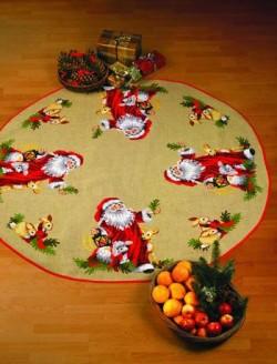 Juletræstæppe